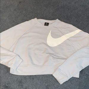 Nike cropped crew neck
